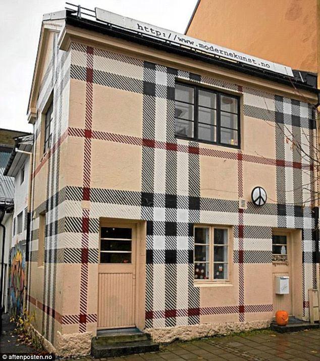 Chav Tastic Coat Of Paint For Wacky Artist's House Turned Into
