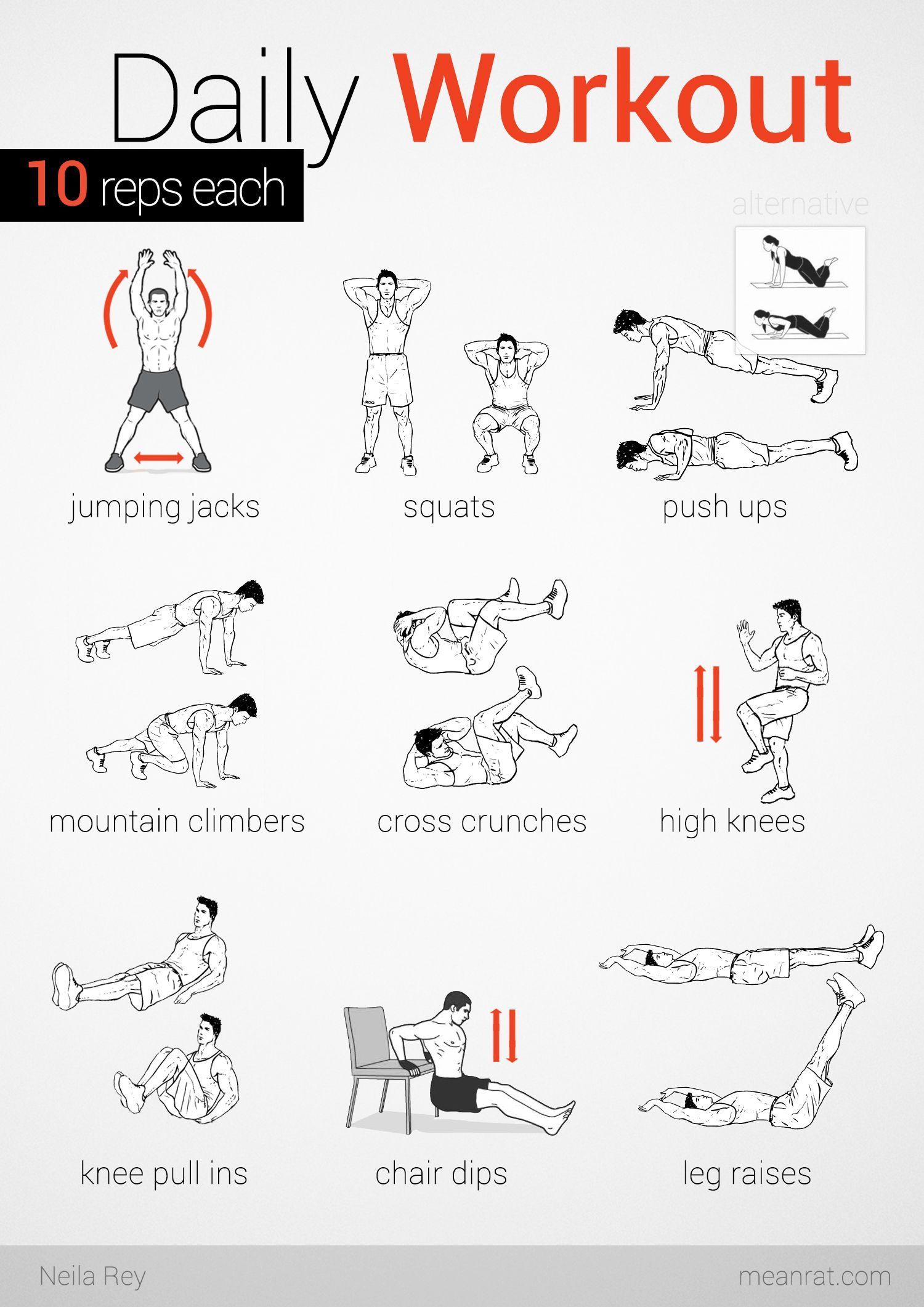 funny exercise diagram cushman wiring chest workout at home no weights body pinterest
