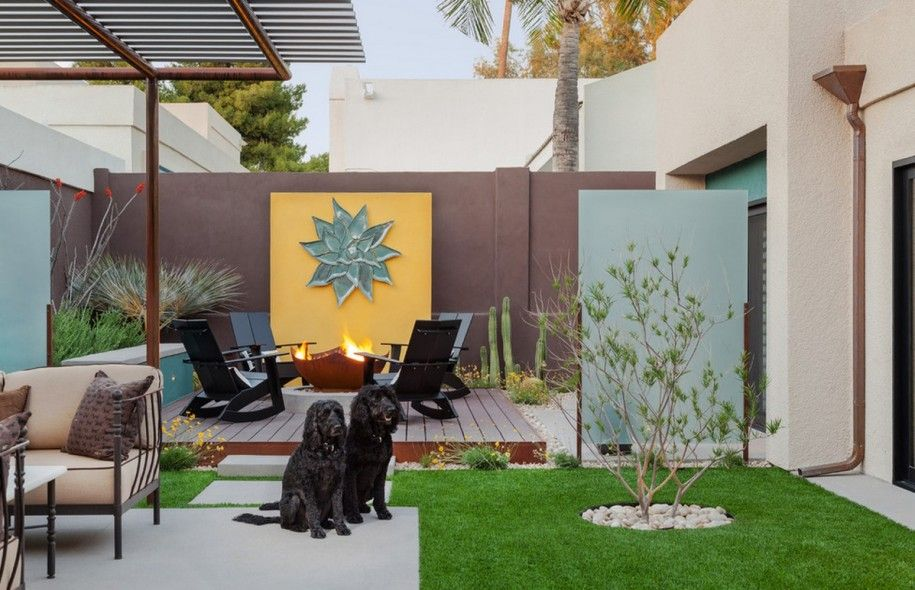Ideas To Paint A Garden Wall 1 Wall Decal