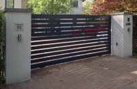 contemporary Aluminium electric driveway gates | Bach ...