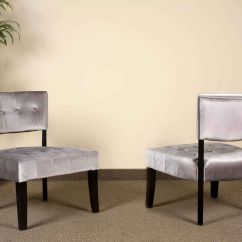 Gray And Yellow Accent Chair Target Metal Chairs Silver Panne Velvet Grey Living