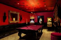 Game Room Decorating Ideas with Pool Table