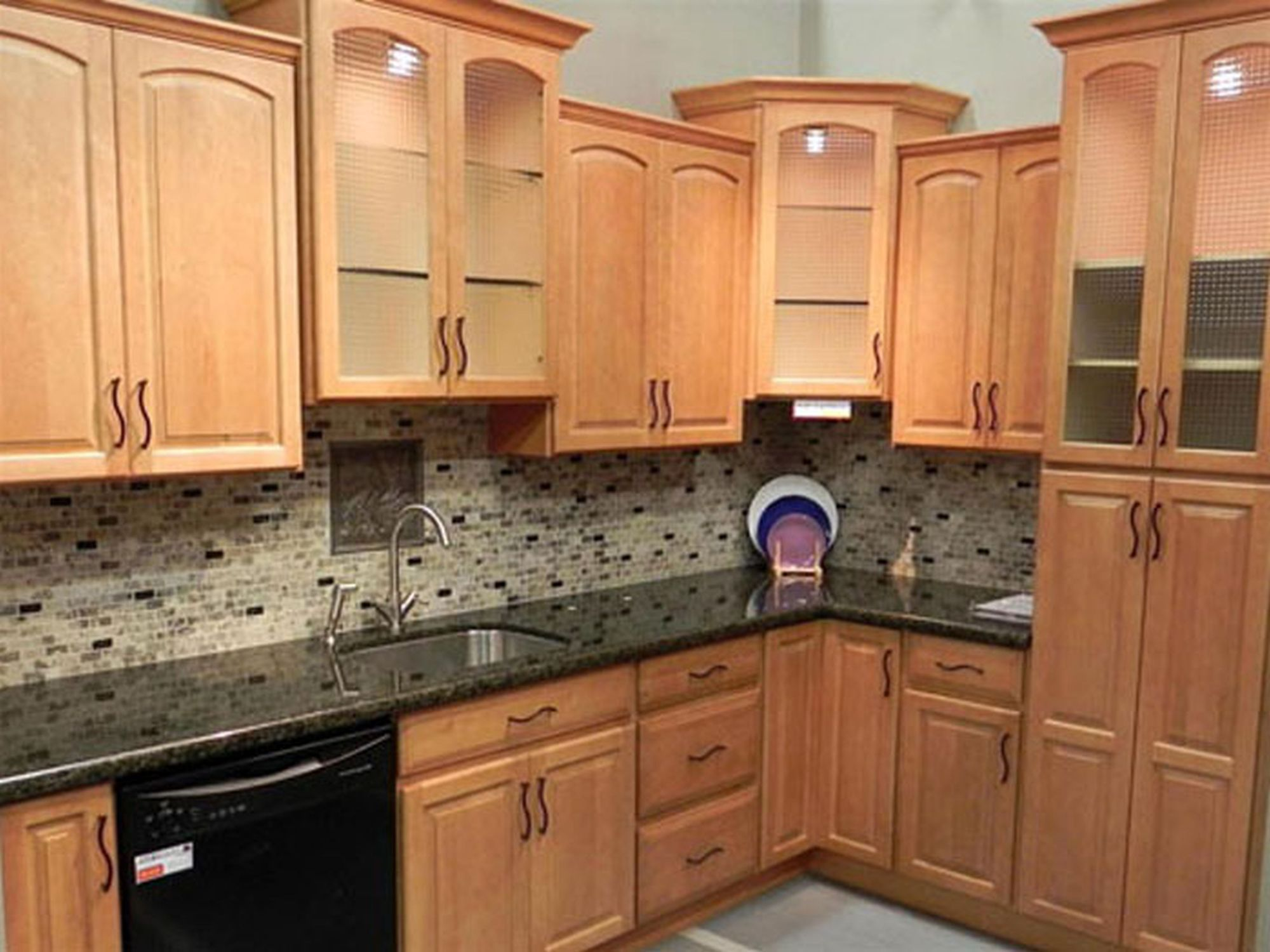 light maple kitchen cabinets recessed lighting this is pretty close to what i want rustic birch
