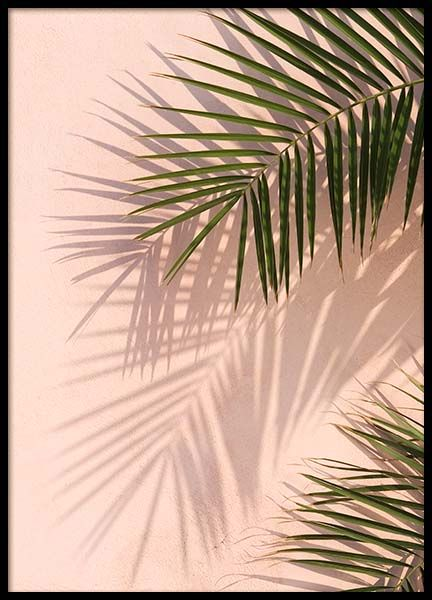 Palm Leaves Wallpaper Vintage Golden Girls Posters Scandinavische Kunst Affisches Desenio Nl