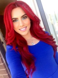 How to: dye dark hair bright red WITHOUT BLEACH! -Loveeeee ...