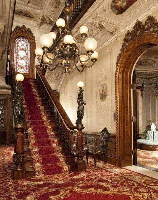 Victorian House Interiors on Pinterest  Victorian Home Decor Victorian Interiors and Victorian Parlor