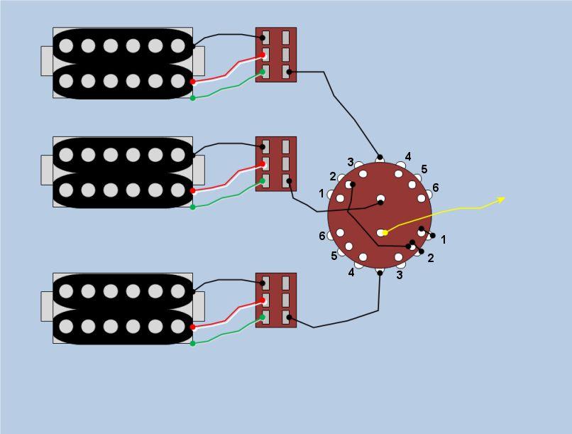 Mini Toggles/Rotary Switch Wiring Help
