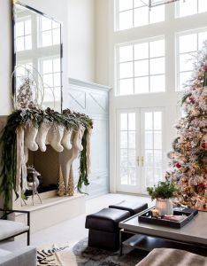 Holiday decorating also tour  blogger   home decked out for the holidays rh pinterest