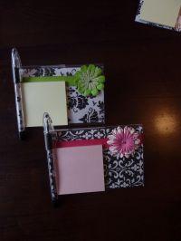 post it holders | Craft Ideas | Pinterest | Good ideas ...