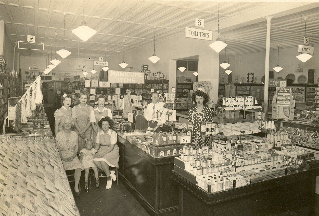 In Early S The Ben Franklin Store In Chillicothe Il