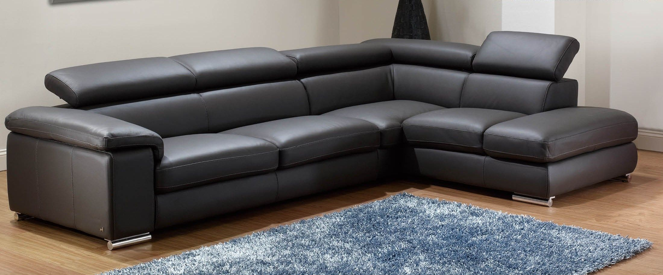 leather modern sofa sectional michael nicholas aspen awesome epic