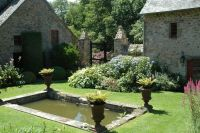 wide shallow garden | ... , shallow pond in the first, and ...