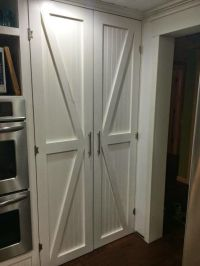 One Thrifty Chick: DIY Barn Style Pantry Doors | For the ...