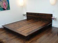 DIY King Platform Bed Frame | woodworking | Pinterest ...