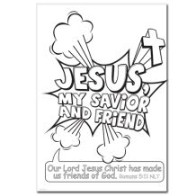 Download and Print this FREE Jesus My Savior & Friend