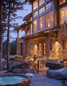 High camp on site management inc find this pin and more houses homes also change the exterior of your house to beautiful stone that rh pinterest