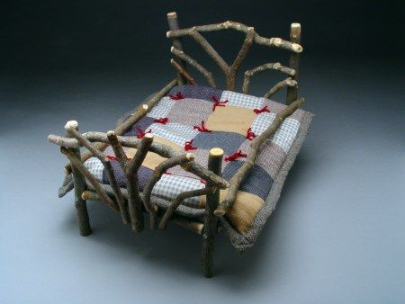 Twig Doll Bed Crafts Things To Make Out Of Tree Branches