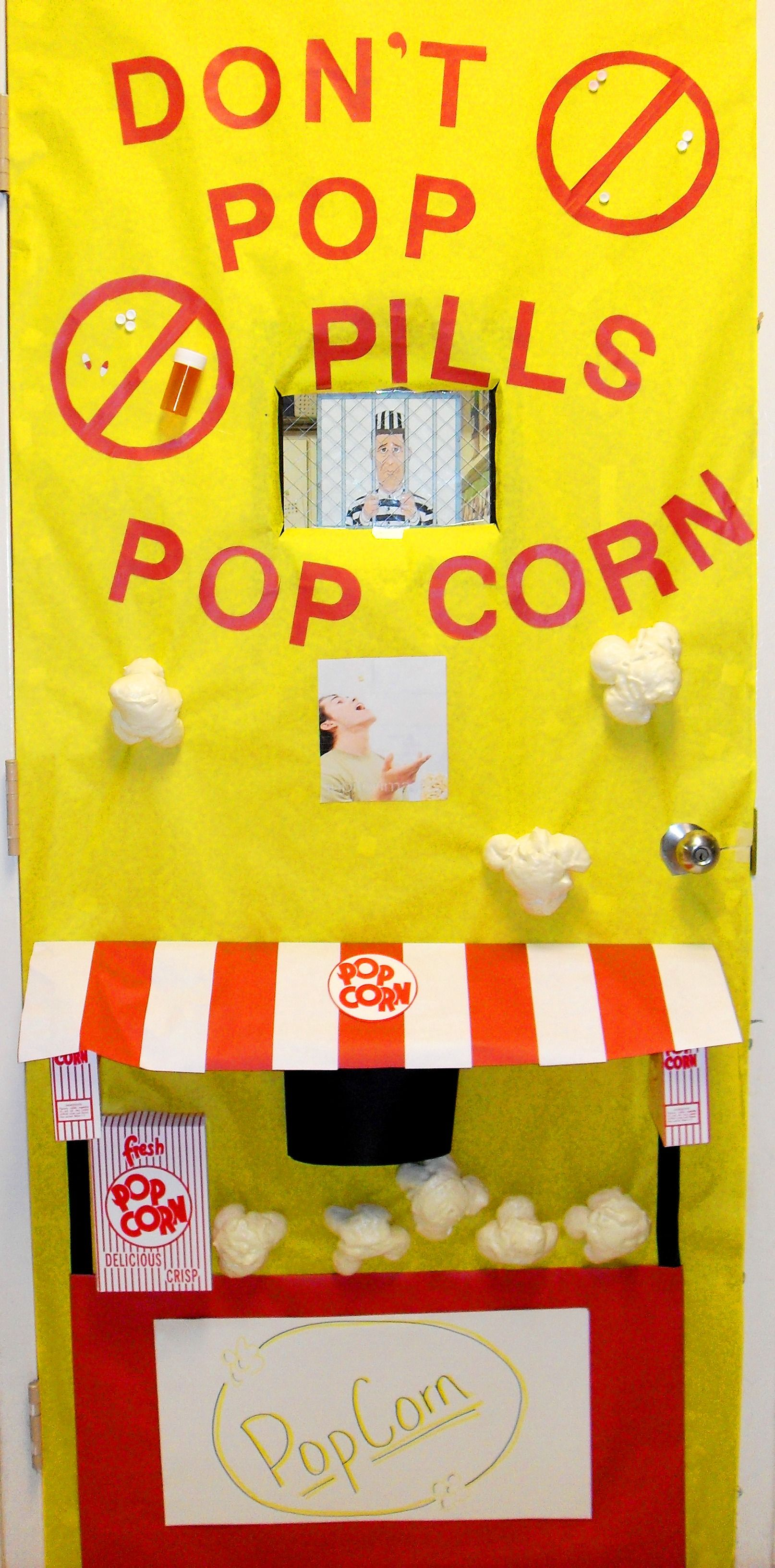 Red Ribbon Week Door Decorating Inspiration! Enter your