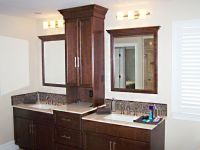 Good Bathroom Vanities With Towers Double Vanity With