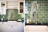 green tile backsplash | Since my backsplash hasnt been ...