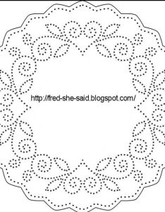 made some paper pricking borders hand pinterest embroidery and patterns also rh in