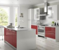 High gloss red and white | Kitchen ideas | Pinterest ...