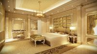 Luxurious dream home master bedroom suite seating mansion ...