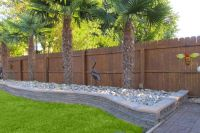 Best Driveway Landscaping Ideas With Fence | landscape ...