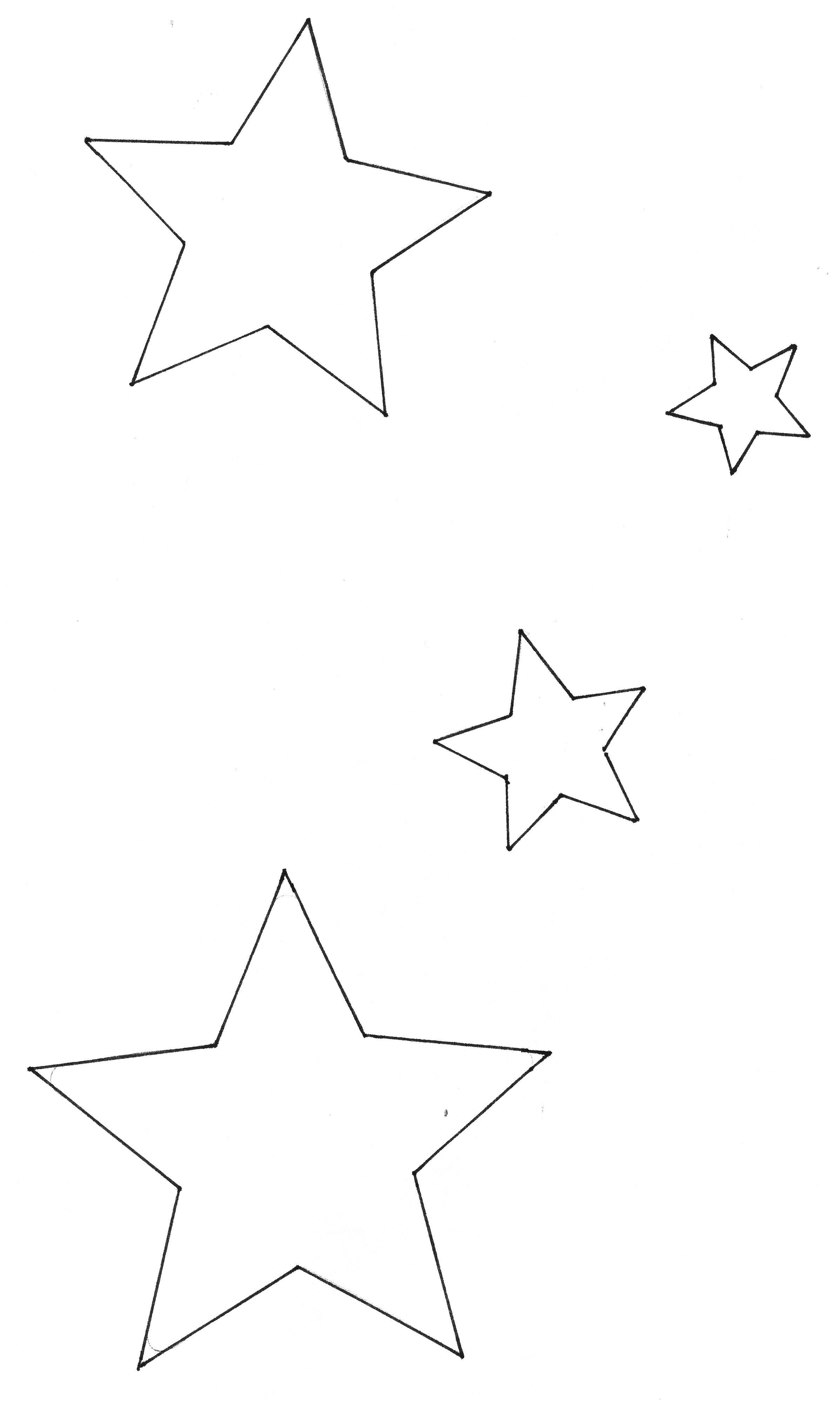 Vorlage Tischdeko 384 Malvorlage Stern Ausmalbilder