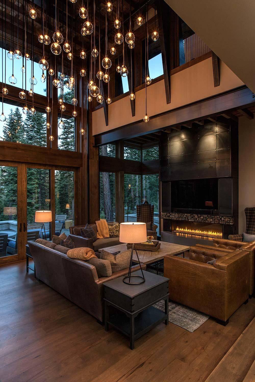 Lake Tahoe Getaway Features Contemporary Barn Aesthetic Lakes