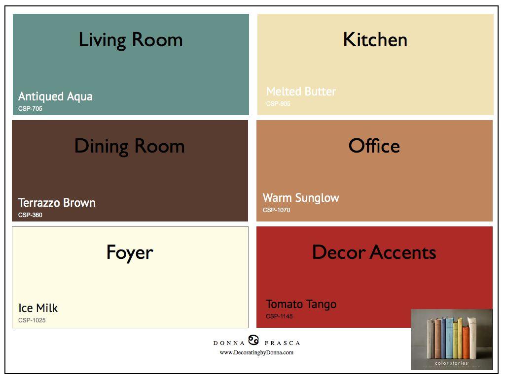 2017 Color Trends Color Stories 001 Color Scheme Options