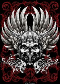 Warrior Skull by *Oblivion-design on deviantART would make ...