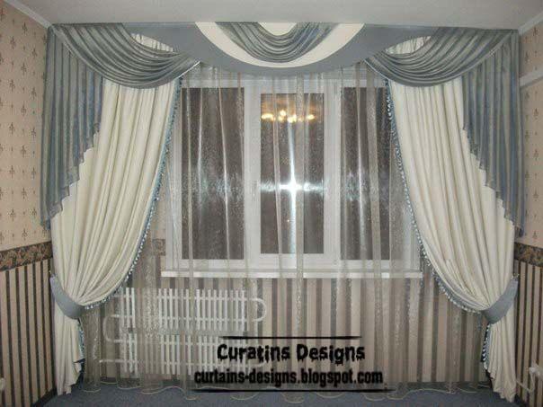 Classic Curtain Designs Greek Curtain Style White Curtain Design