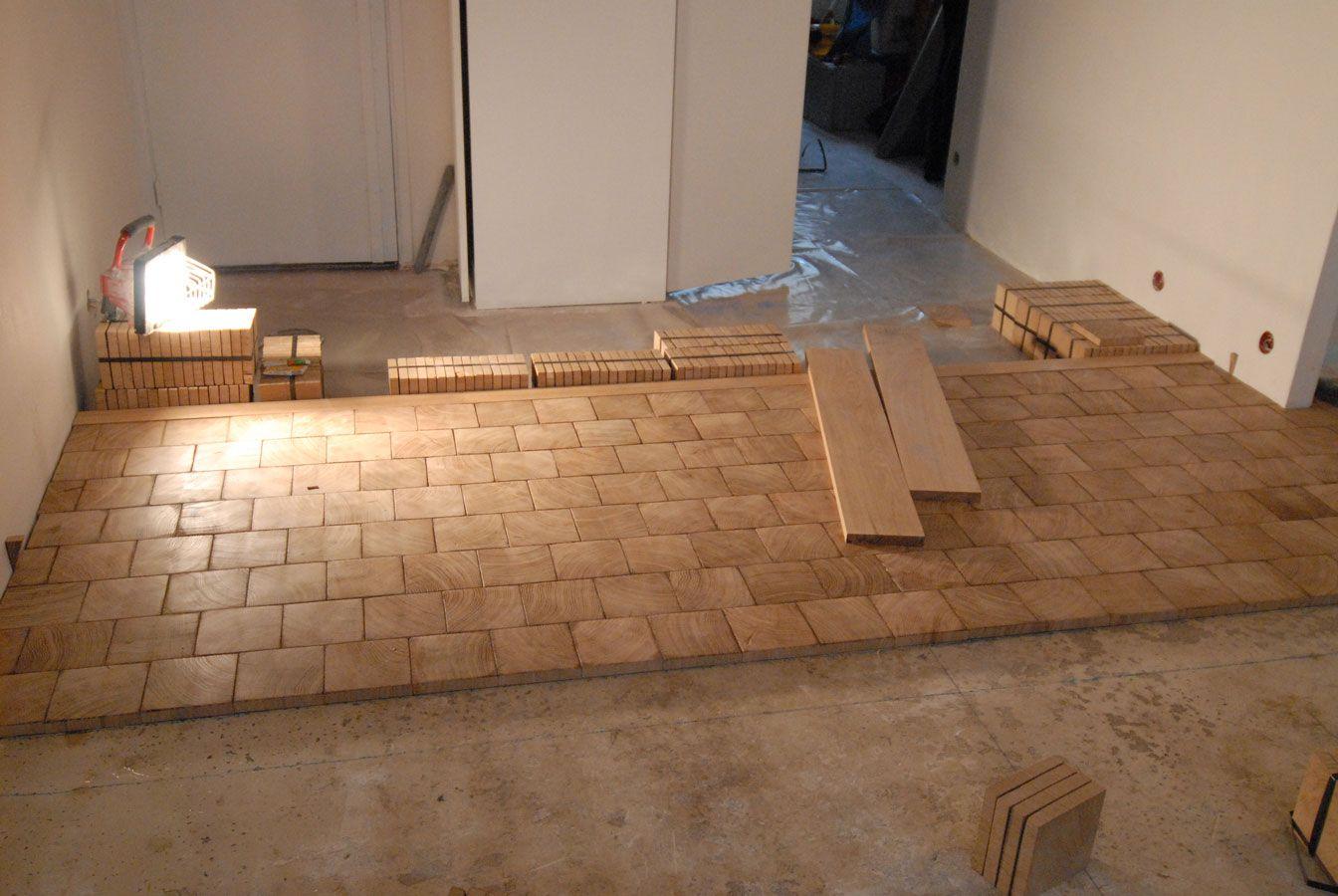 falling in love with endgrain flooring i like the bigger