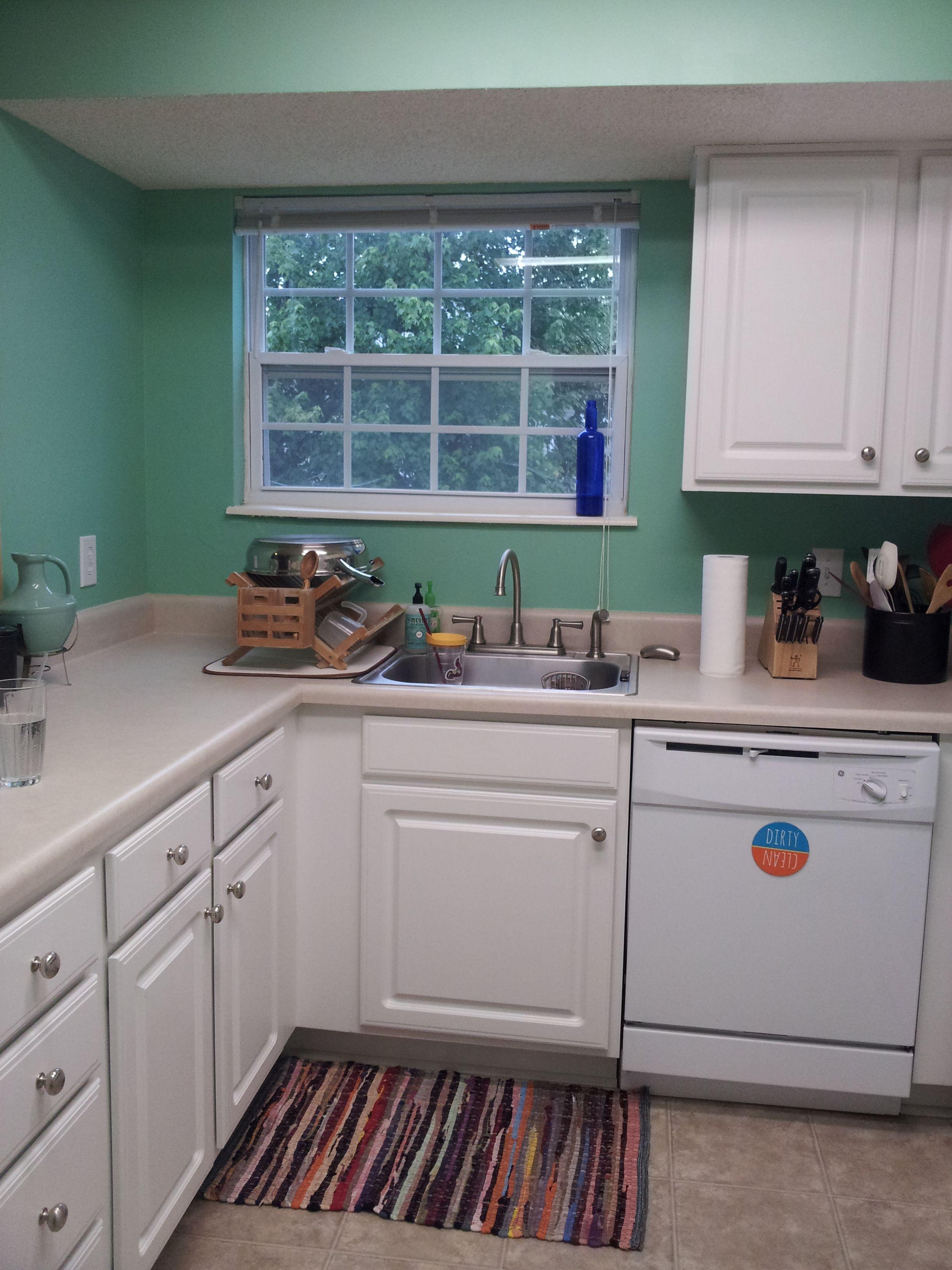 Best Kitchen Gallery: Valspar Kelp Home Pinterest White Cabi Kitchen Paint Ideas of Valspar Kitchen Colors on rachelxblog.com