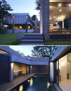 Privacy contrasts with startling openness in thai house designs  ideas on dornob also rh pinterest