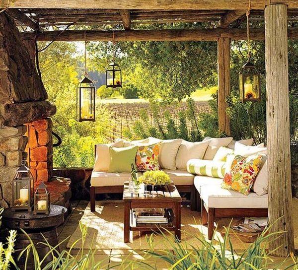 10 Beautiful Outdoor Furniture Garden Ideas Cottage Cabin