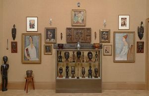 Image result for barnes foundation african art