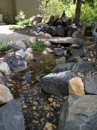 DIY backyard creek | Backyard ideas | Pinterest | Backyard ...
