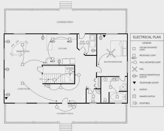 Electrical Engineering World: House Electrical Plan