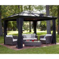 Gazebo Canopy. Pergola. This 10 x 12 Hardtop Gazebo Tent ...