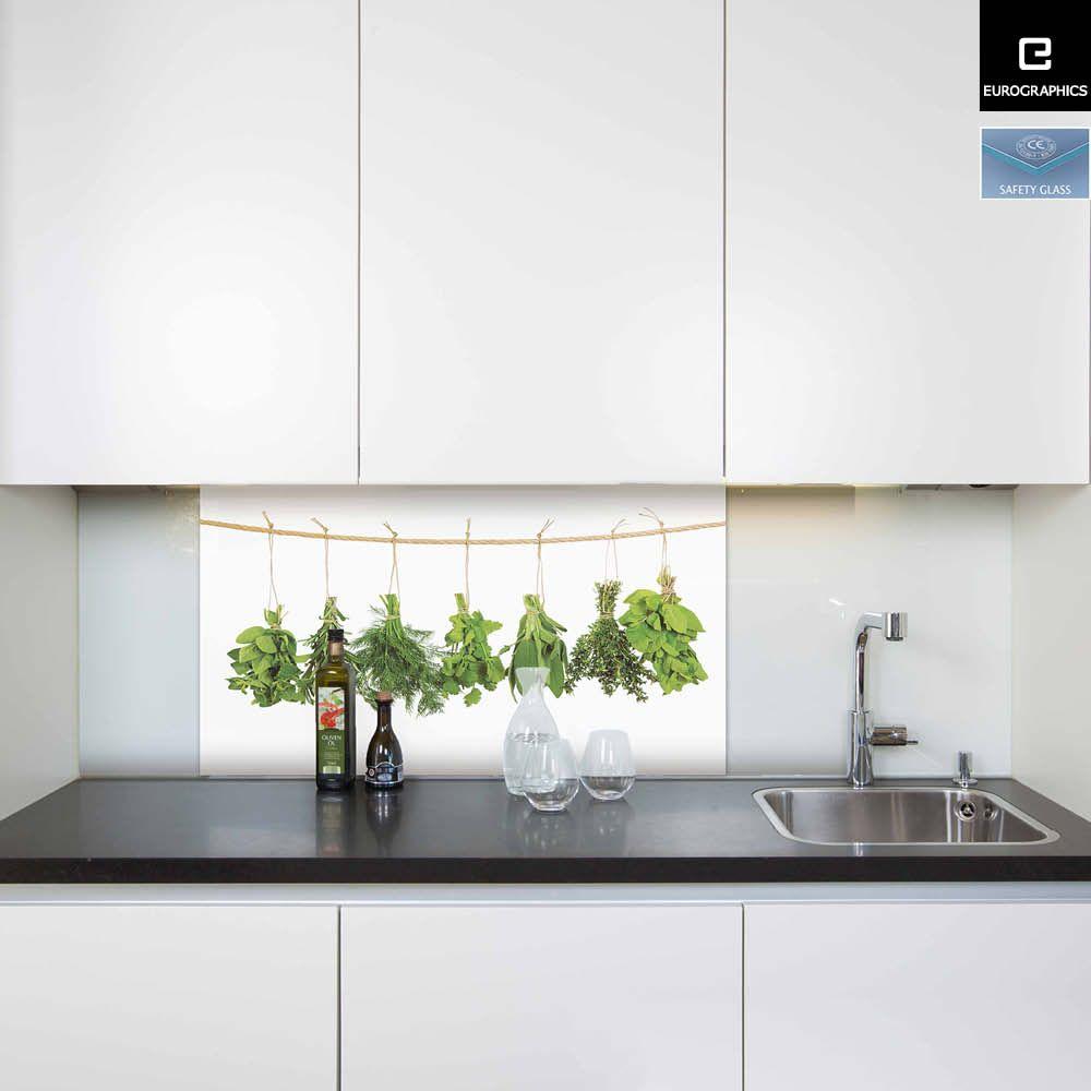 Küchenrückwand aus Glas von EUROGRAPHICS Küche Pinterest