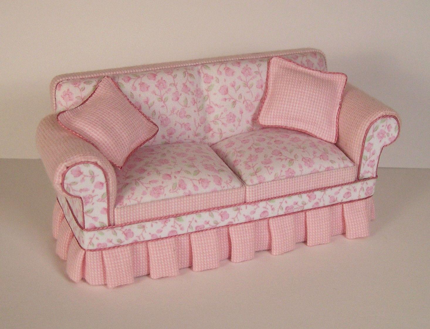 miniature sofa bob sofaly beaufort gazette vintage shabby chic furniture sc100
