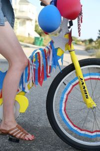 fourth of july bike decorating ideas