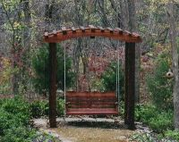 Japanese Pergola Swing   backyard   Pinterest   Pergola ...