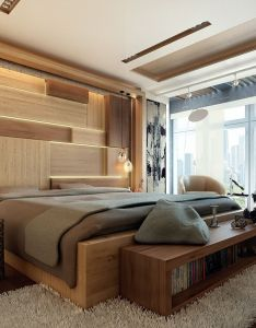 Modern bedroom remodeling ideas with wood set and nice wall art beautiful decoration nizwa also rh za pinterest