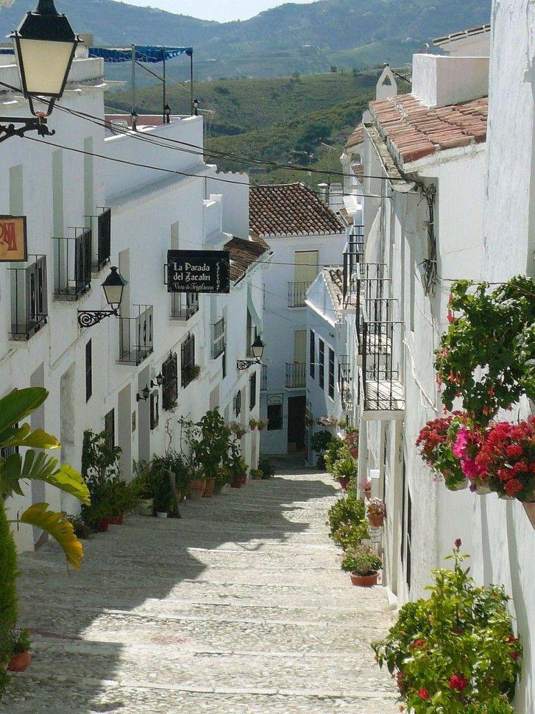 Frigiliana pueblos blancos the white villagesde Mlaga