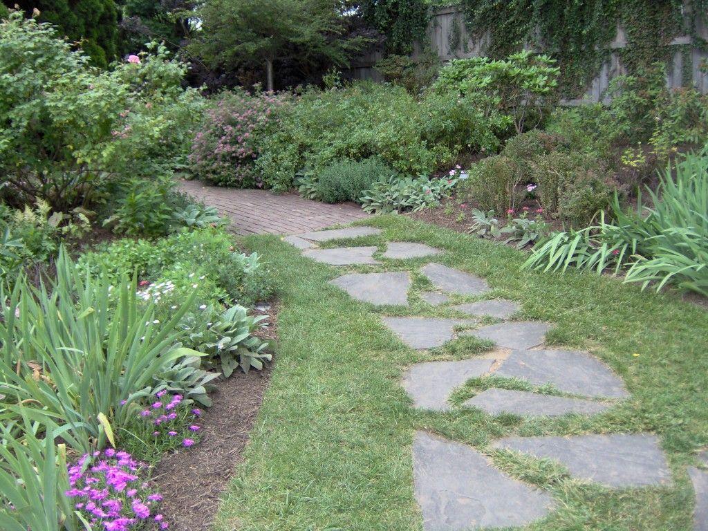 Garden Path Ideas Garden Path Ladew Gardens Flagstone Grass