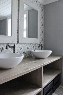 Rustic Vintage Bathroom Tiles
