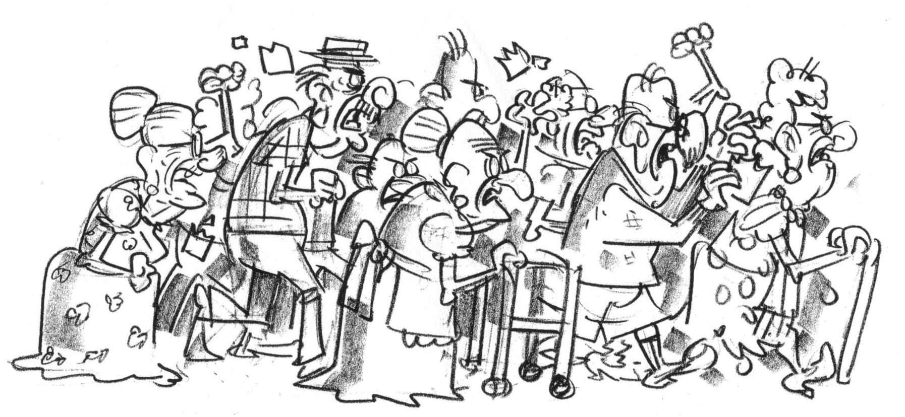 Drawings Of People